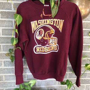 Vintage Washington Redskins sweatshirt 80s retro